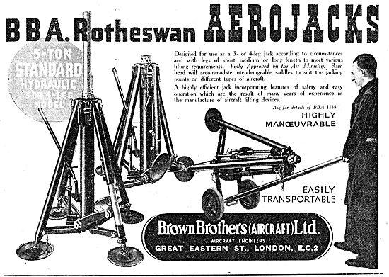 Brown Brothers BBA Rotheswan AeroJacks