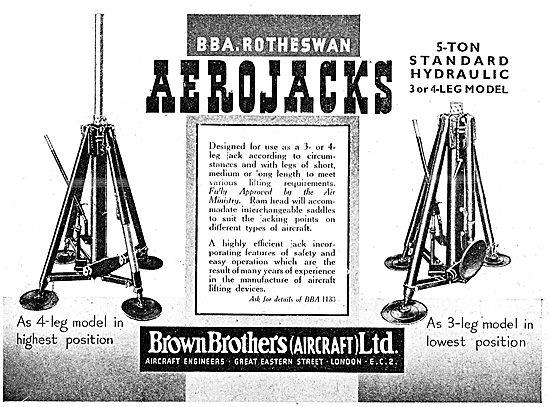 Brown Brothers  B.B.A. Rotheswan AeroJacks