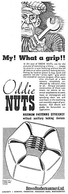Brown Brothers Aircraft & General Engineers  - Oddie Nuts
