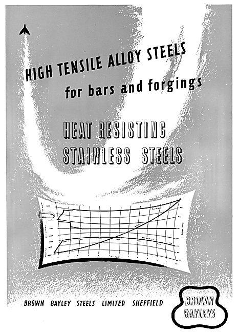 Brown Bayleys Steels - Sheffield High Tensile Alloy Steels