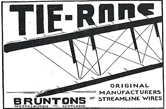 Bruntons Aeroplane Wires & Tie Rods