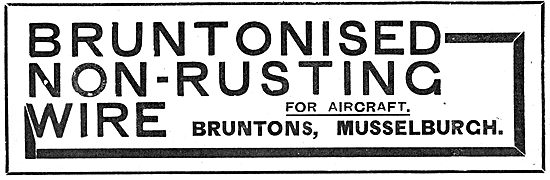 Bruntons Non Rusting Wire For Aircraft