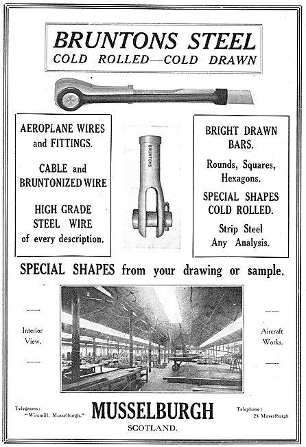 Bruntons Aeroplane Wires & Fittings