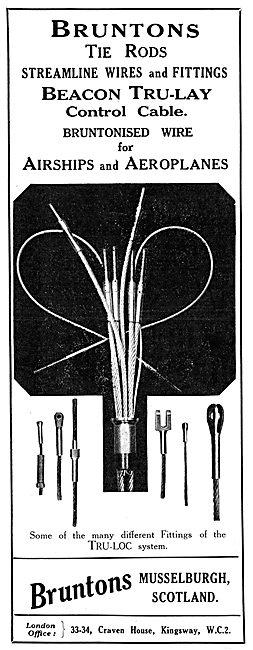 Bruntons Tie Rods & Streamline Wires. Beacon Tru-Lay