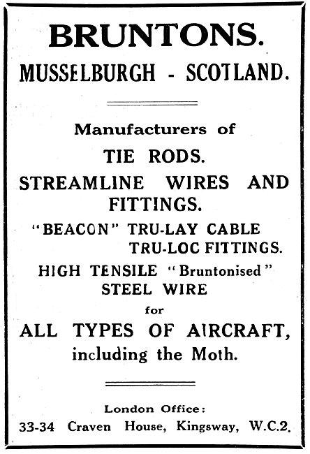 Bruntons Wire - Tru-Lay Cables - Tie Rods