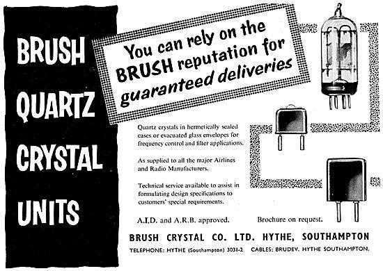 Brush Quartz Crystal Units