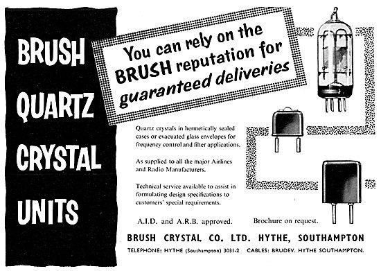 Brush Crystal. Brush Quartz Crystal Units