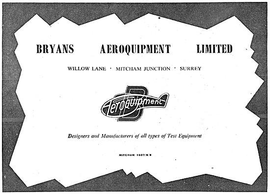 Bryans Aeroquipment Test Equipment
