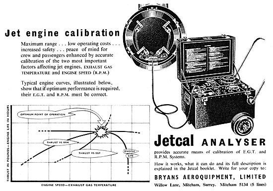 Bryans Aeroquipment - Jetcal Analyser