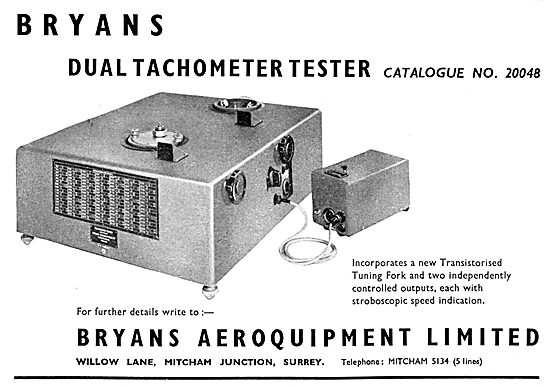 Bryans Aeroquipment - Dual Tachometer Tester