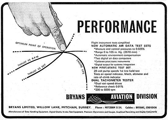 Bryans Aviation Components Test Sets - Pitot/Static Test Set