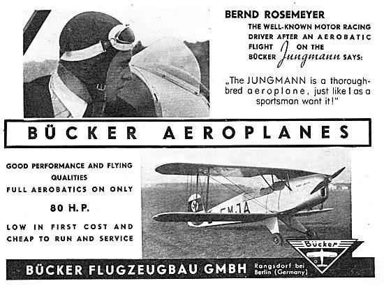 Bucker Jungmann: Bernd Rosemeyer