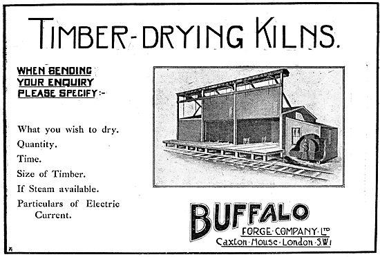 Buffalo Forge Company - Timber Drying Kilns