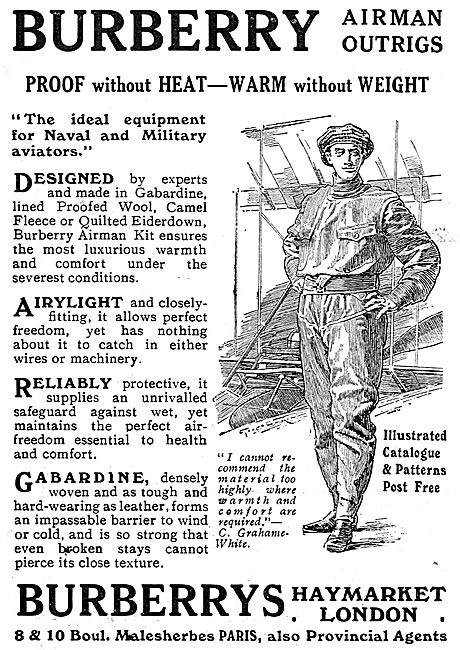 Burberry RFC Airman Outrigs