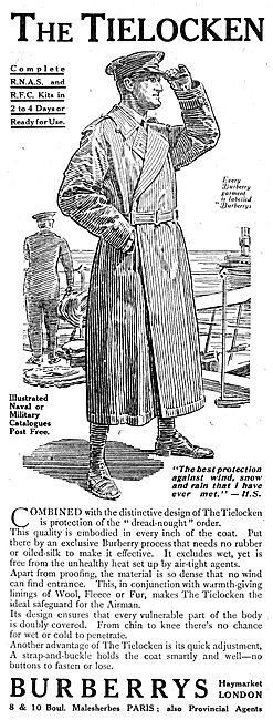 Burberry's Tielocken Flying Coat