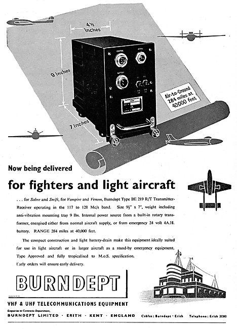 Burndept VHF & UHF Telecommunications Equipment
