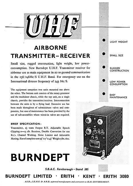 Burndept Airborne Transmitter-Receiver