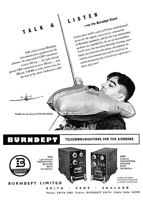 Burndept Airborne Telecommunications 1956