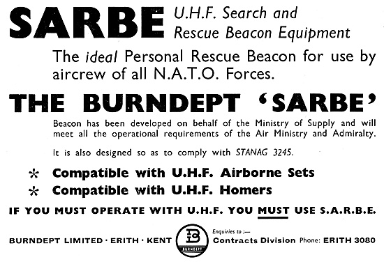 Burndept SARBE UHF Search & Rescue Beacon