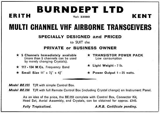 Burndept Multi Channel VHF Transceivers