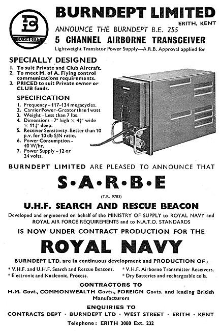 Burndept SARBE - Burndept Communications Equipment