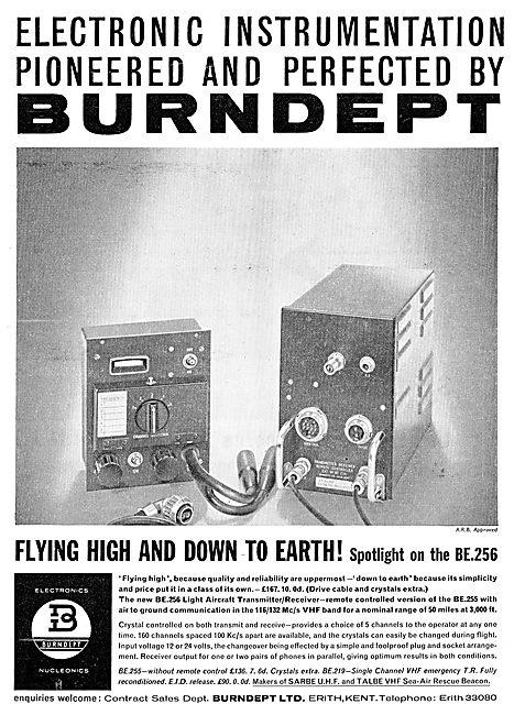 Burndept BE255 Aircraft Transmitter/Receiver