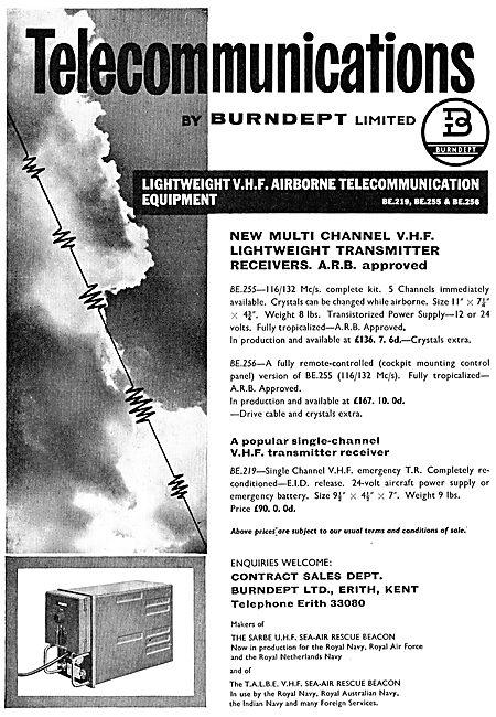 Burndept Telecomms: BE219 BE225 BE256