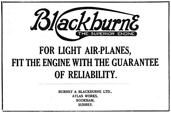Burney & Blackburne  Aero Engines