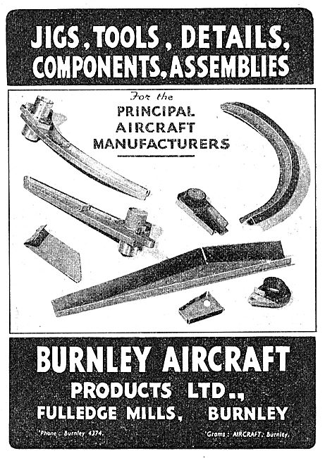 Burnley Aircraft Products - BAP Jigs, Tools & Details