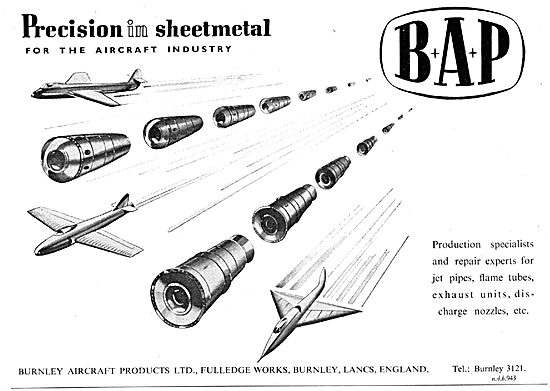 Burnley Aircraft Products - BAP Precision Sheet Metal Works