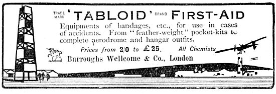 Burroughs Wellcome Tabloid First Aid Kit