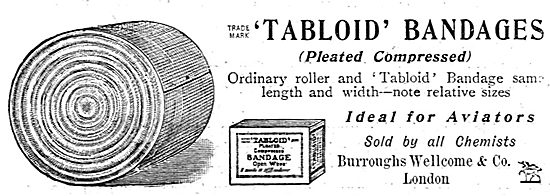 Burroughs Wellcome Tabloid Bandages