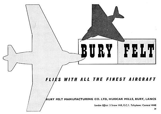 Bury Felt - Hudcar Mills, Bury. Lancs