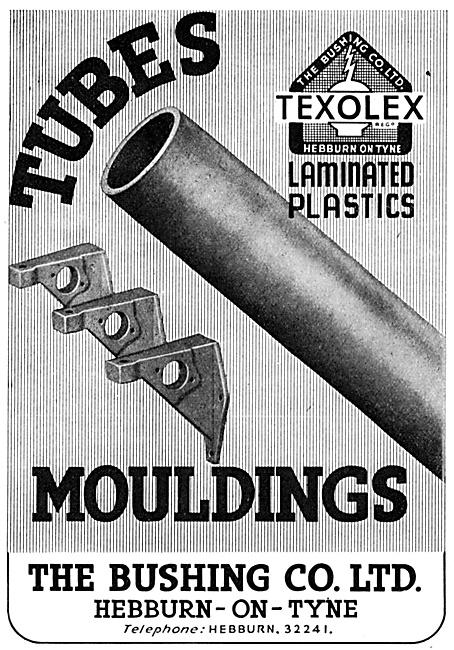 Bushing Texolex Plastic Tubes & Mouldings