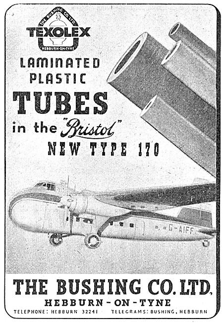 Bushing Texolex Laminated Plastic Tubes