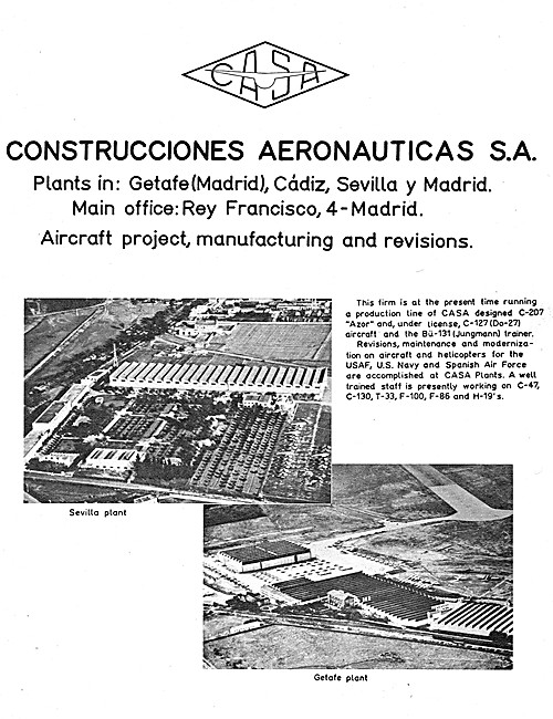 CASA  Aircraft 1961
