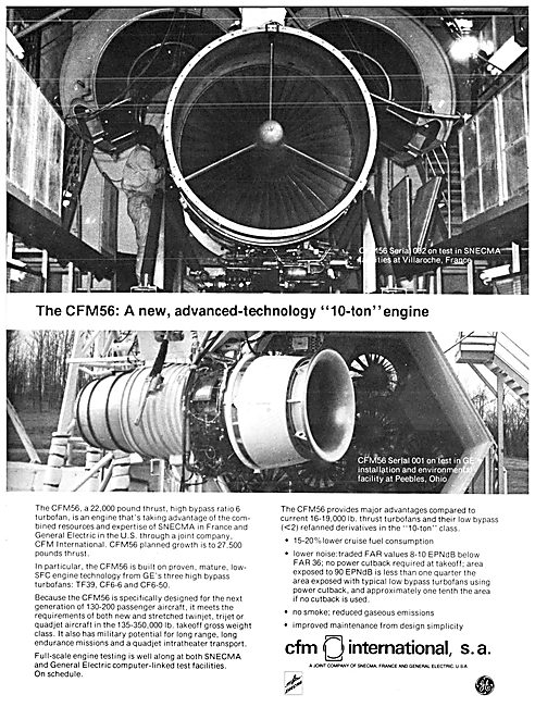 CFM International. CFM56 Aircraft Engine