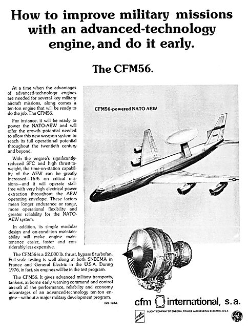CFM International. CFM 56