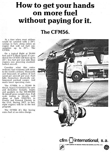 CFM International. CFM56