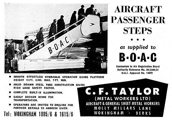 C.F. Taylor Aircraft Passenger Steps