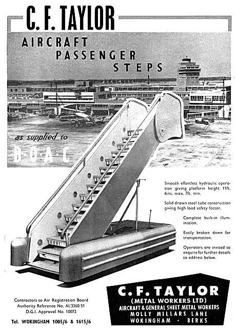 C.F.Taylor Aircraft Passenger Steps