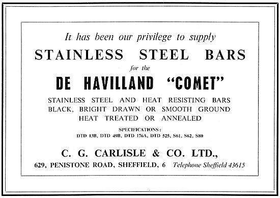 C.G.Carlisle & Co Stainless Steel Bars