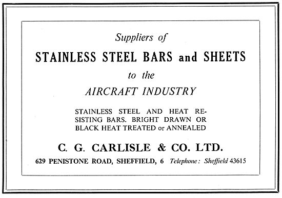 C.G.Carlisle Stainless Steels