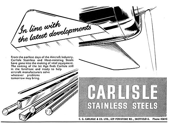 C.G.Carlisle Stainless Steel Bars & Sheets