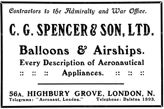 C.G.Spencer Balloons & Airships