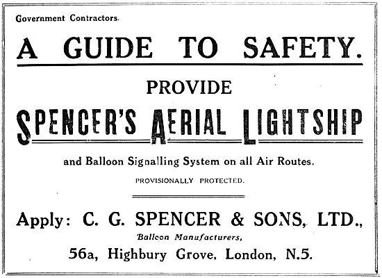 C.G.Spencer  Aerial Lightship