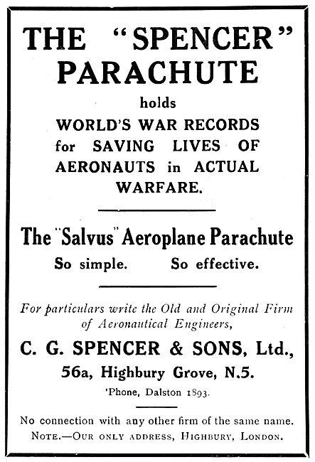 C.G.Spencer - Salvus Parachute