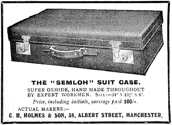 Holmes Leather - Semloh Suit Case 1919