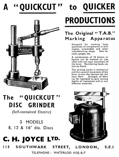 C.H.Joyce Lathes & Machine Tools
