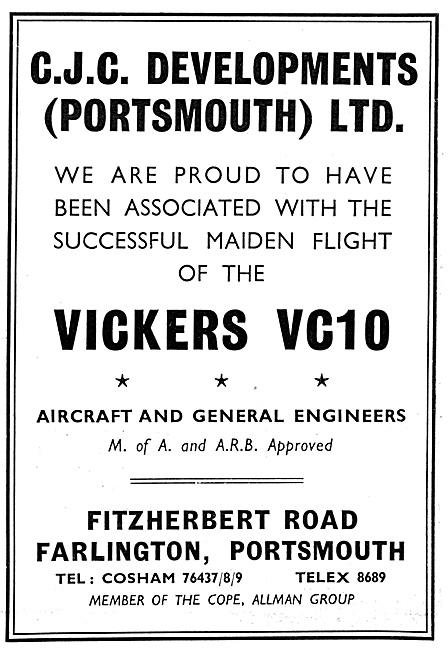 CJC Developments. Aircraft & General Engineers